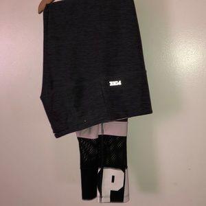 Zippered pocket medium size pants